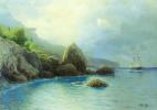 Лев Феликсович Лагорио. Берег моря. 1899