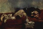 Вильгельм Мария Хубертус Лейбль. Спящий маленький савояр