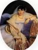 Portrait of Madame Riviere, nee Marie Francoise Biben Blo de Beauregard
