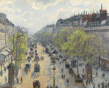 The Boulevard Montmartre. Spring morning