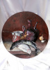 Кувшин с вином и рыба