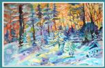 Асия Рахимова. Зимний лес