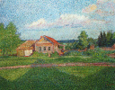 Landscape with a house
