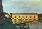 Alfred Sisley. A pumping station at Marly