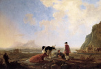 Альберт Кейп. Пастухи с коровами