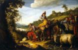 Авраам на пути в Ханаан