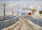 Этюд  в  «Рогунская ГЭС»