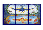 Yuri Vladimirovich Sizonenko. Triptych: Free flight.