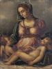 Мадонна с Младенцем и Иоанном Крестителем (копия 16 в. с оригинала Вазари)