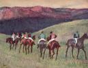 Проездка скаковых лошадей