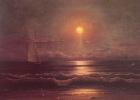 Мартин Джонсон Хед. Отплытие парусника в лунном свете