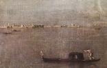 Франческо Гварди. Гондола в Лагуне