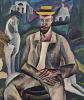 Портрет художника В. В. Рождественского