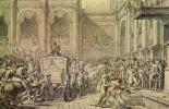 Жак-Луи Давид. Прибытие Наполеона в ратушу. Эскиз