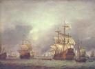 Взятие в плен корабля во время четырёхдневного морского сражения 1666 г.