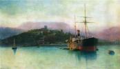Лев Феликсович Лагорио. Алушта. 1889