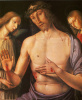 Christ with two angels (man of sorrows)