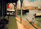 Рамон Касас Карбо. Boat dock