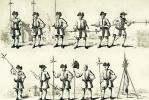Уильям Хогарт. Упражнения с алебардой