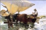 Хоакин Соролья (Соройя). Лодка возвращается с рыбалки