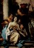 The martyrdom of St. Agatha
