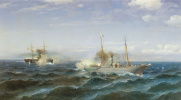 Бой парохода «Веста» с турецким броненосцем «Фетхи-Буленд»