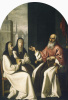 Saint Jerome with Saint Paula and Saint Eustachia