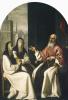 Святой Иероним со святой Паулой и святой Евстахией