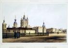 Фердинанд-Виктор Перро. Вид Смольного монастыря
