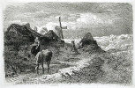 Андреас Ахенбах. Женщина и корова