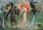 Луи Анкетен. Общество на скачках. 1901