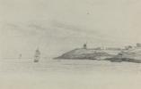 Эжен Буден. Прибрежный пейзаж с перевозкой; Ветряная мельница на расстояние