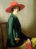 Дама в красной шляпе