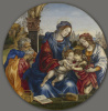 Святое семейство с младенцем Крестителем и святой Маргаритой