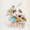 Эскиз женского костюма для балета М.И. Петипа «Королева льдов»
