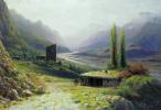 Caucasian gorge