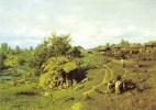 Петр Александрович Суходольский. Полдень в деревне