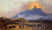 Жан-Леон Жером. Моисей на горе Синай