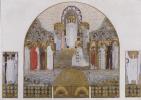 Коломан Мозер. Церковь АМ-Штайнхоф, конструкция мозаики для главного алтаря