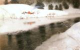 Фриц Таулов. Зимняя река