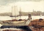 Уинслоу Хомер. Глостерская гавань и Дори