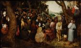 The sermon of St John the Baptist