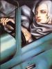 Автопортрет в зеленом Бугатти