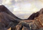 Ашиль Этна Мишаллон. Вид Неаполя с высоты Везувия