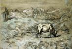 Джованни Сегантини. Альпийское пастбище
