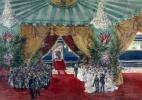 Павел Яковлевич Пясецкий. Отъезд Николая II из Франции - проводы на вокзале Фреснуа