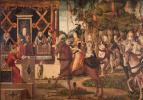 Витторе Карпаччо. Королева амазонок Ипполита, прибыла со своими послами к Тесею