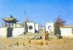 Vasily Vasilyevich Vereshchagin. The ruins of the Chinese Joss-house. AK-Kent