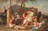 Александр Андреевич Иванов. Братья Иосифа находят чашу в мешке Вениамина. 1831-1833