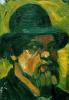 Автопортрет в шляпе